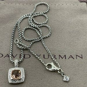 David Yurman Petite Albion Pendant Necklace